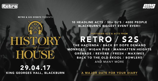 Retro & S2S presents History of House