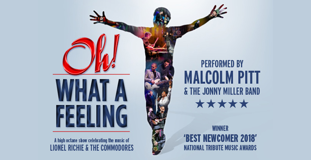 Oh! What A Feeling – Celebrating The Music of Lionel Richie and the Commodores