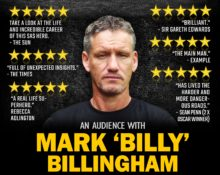 TV's Most Experienced SAS Leader Mark Billy Billingham comes to Blackburn