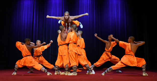 The Warrior Monks