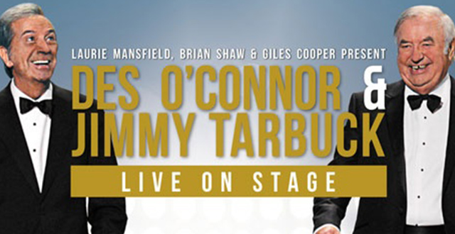 Des O'Connor & Jimmy Tarbuck – LIVE